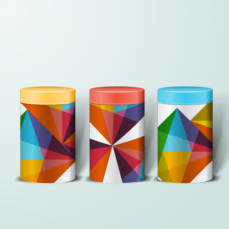aluminium: Mockup template for branding and product designs. Isolated realistic metal steel can jar with unique design.