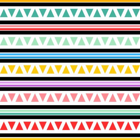 Geometric seamless pattern. Vector illustration 向量圖像