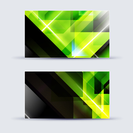 Abstract blank name card template for business artwork.