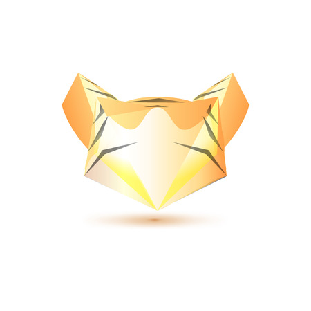 tigress: Set of symbol and shapes. Trendy icons and logotypes. Business signs symbols, labels, badges, frames and borders