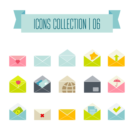 A Vector buttons icon set vector. Web symbol set. Illustration