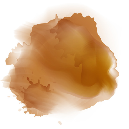 dribbling: Abstract watercolor stains background. Gradient Mesh stains
