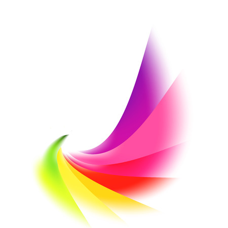 Vector abstract rainbow gradient mesh multicolored vibrant background. EPS 10