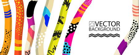 Fondo abstracto de moda de la ilustración, cartel, planta suculenta floral del cactus estilizado, estilo plano y elementos del diseño 3d. Arte único para cubiertas, pancartas, volantes y carteles.
