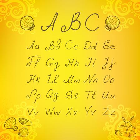Symbol font Set . On Background. Vector Illustration Vetores