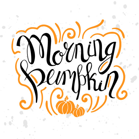 Exceptional Autumn Motivation Quotes Text. Greeting Card With Brush Calligraphy And  Hand Drawn Illustrations, Holiday