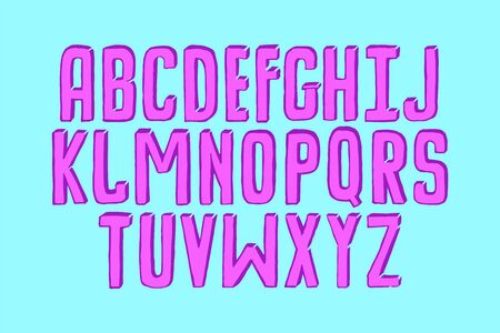Modern fancy copybook alphabet. Handwritten font letters. Hand lettering font for your design: wedding calligraphy, logo, slogan, decor postcard, greeting, motivation quotes, positive message
