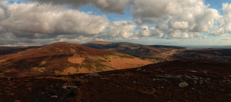 mountainscape: Luggala range