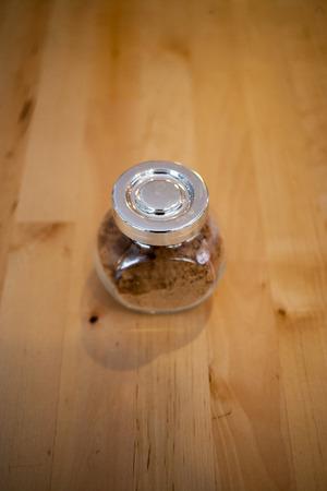 unprocessed: sugar jar