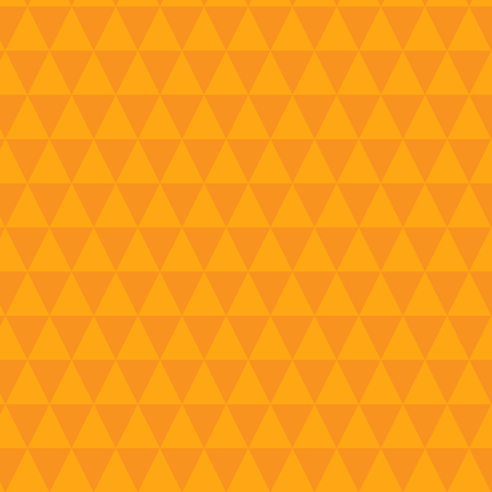 Beautiful triangles mustard pattern