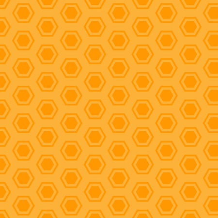 Mustard hexagon pattern. Çizim