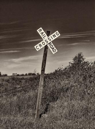 Railroad to nowhere. Stok Fotoğraf