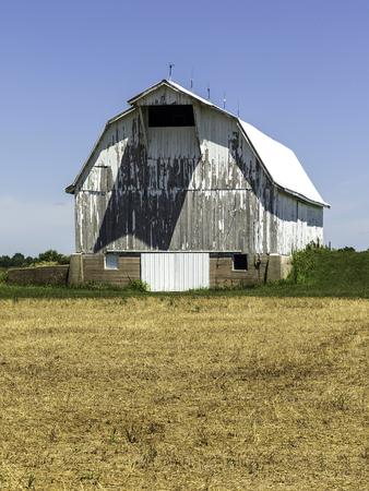 Aging Barn Фото со стока