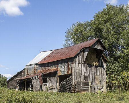 A beautiful aging barn and hayloft.