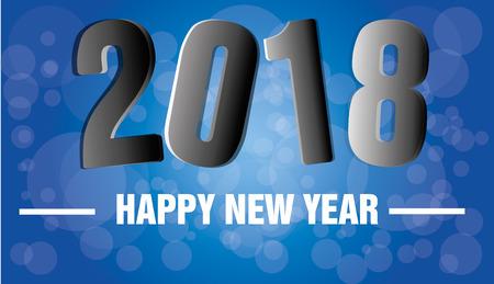 Good year 2018 Illustration
