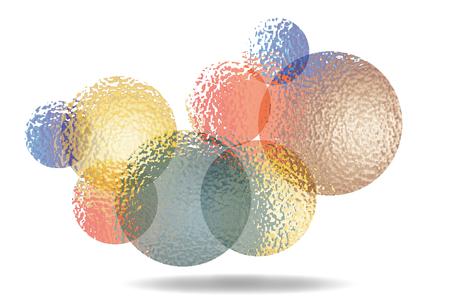Illustration of Bubbles. Illustration