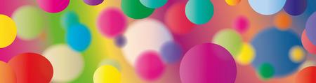cor: colored circles Illustration