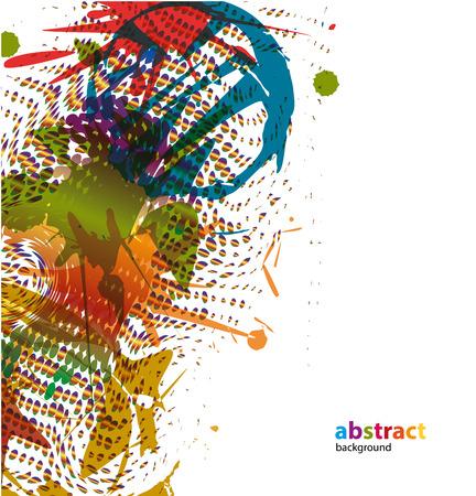 Splash - Various colors - patches - paintbrushes