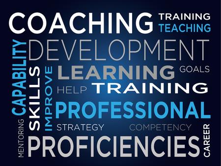 formative: Coaching - Development of training - training - preparation - prof