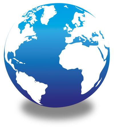 Flawless Map - World Map - Globe - Earth - Planet Illustration