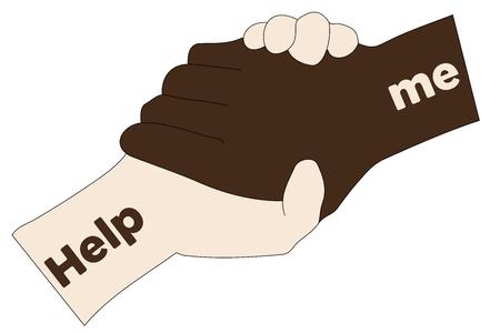 help me: Help me - Hands - Social