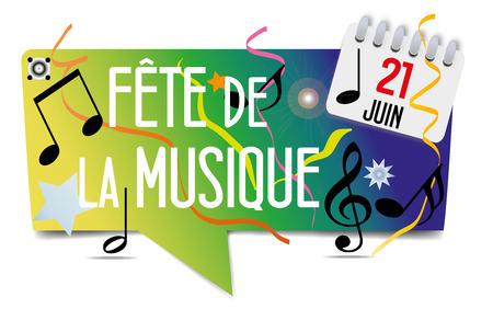 stave: Music Festival Illustration