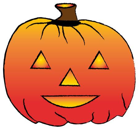 Hallowen pumpkin.