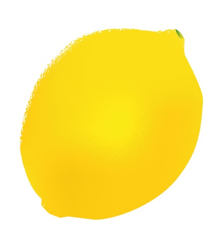 Lemon whole yellow