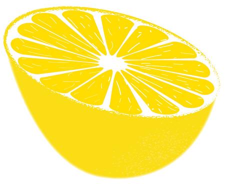 appointed: half lemon Illustration