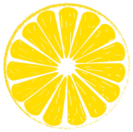 appointed: Lemon lime slice yellow