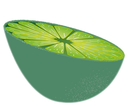 appointed: Lemon over green