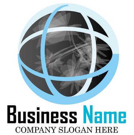 globe logo: Business logo design