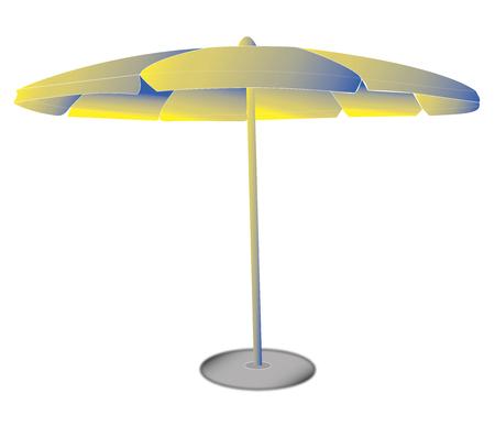 Umbrella for the beach vacation sea