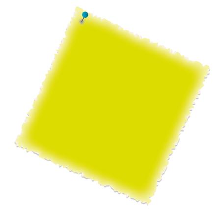 Memo color - Post-it - Pense-bete Illustration