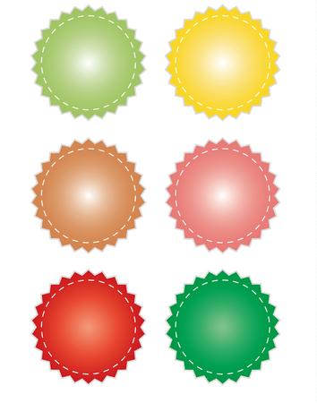 Badge sale design for icon illustration Illustration