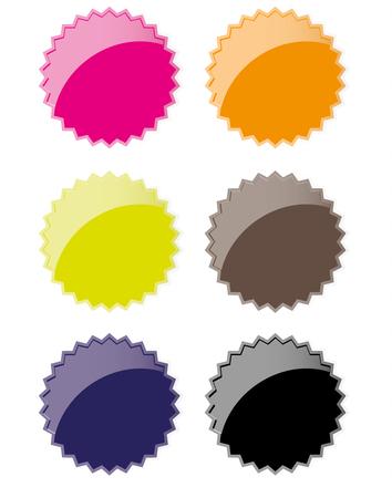 Badge Sale Design or Icon Illustration.