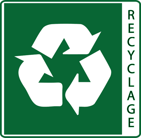 Sign of recycling (recycling, logo, recycle)