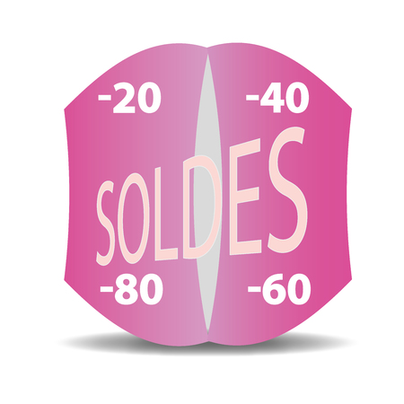 Reduction, Selling, Sale, Labels Stock Vector - 80330580