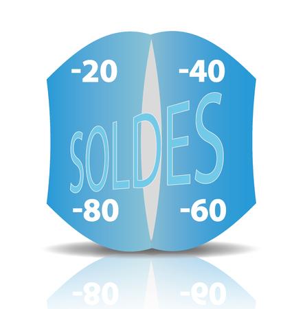 bargains: Reduction, Selling, Sale, Labels Illustration
