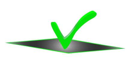 Checkbox, validation sign