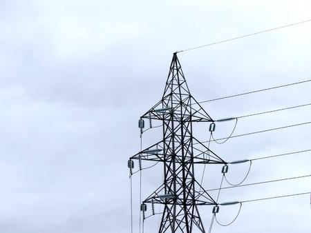 Electric pillar Stockfoto - 114301048