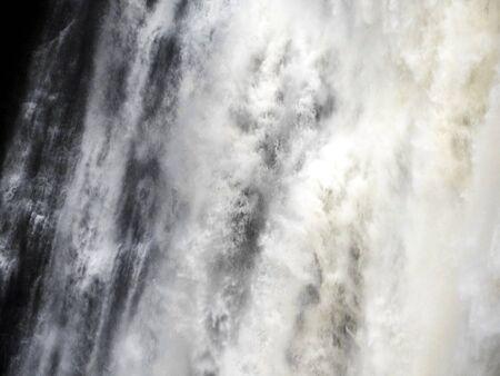 Waterfalls in close up Stockfoto