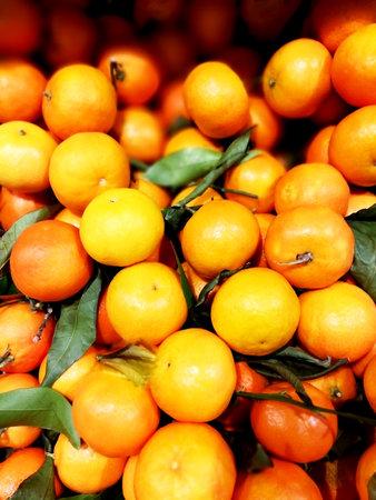 Full of loose tangerine