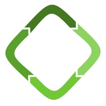 recycling logo Vector