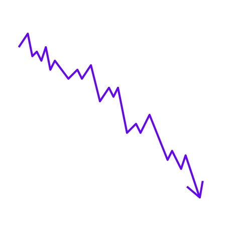 bourse: graphical statistical linear Illustration