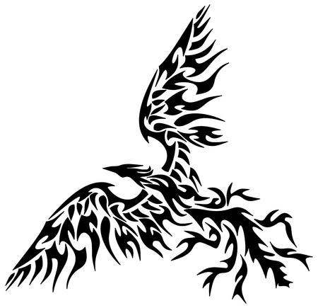 tattoo tribal phoenix