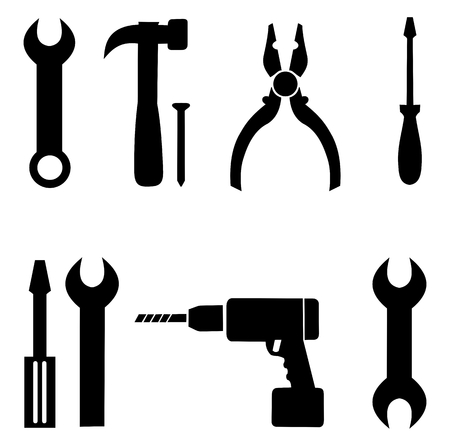 a collection of diy icon Stock Vector - 25997659