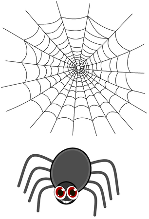 loveable: a spider with a web