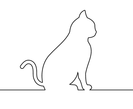 outlines: outline cat