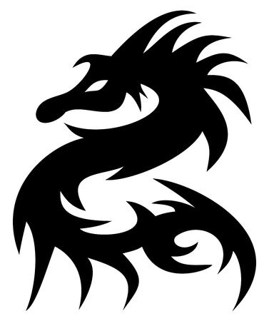 a dragon tattoo